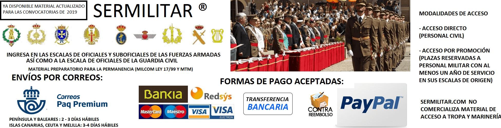 COMPRA SERMILITAR 2019